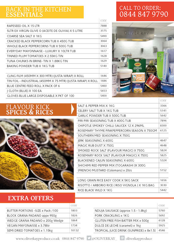 Back to business - money saving offers from Oliver Kay Produce Page 2