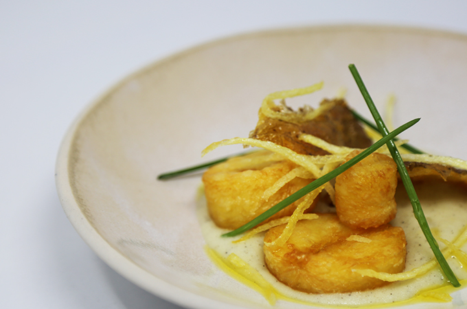 Triple cooked potato and black truffle